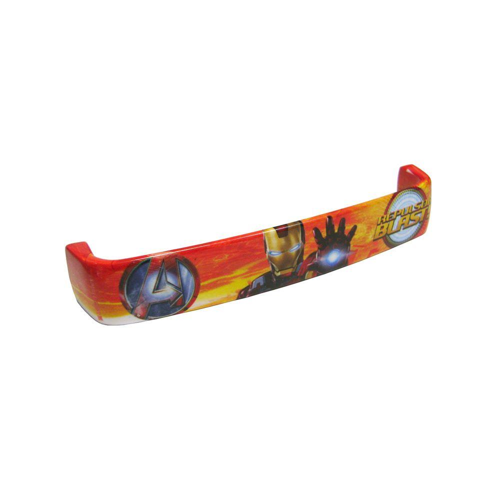 Rish Painted Iron Man 5.04 in. Cabinet Hardware Pull-DISCONTINUED