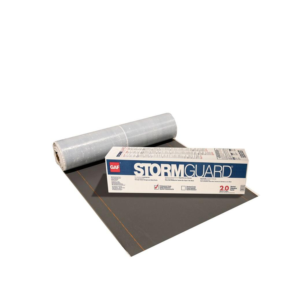Gaf Stormguard 200 Sq Ft Roll Film Surfaced Roof Leak