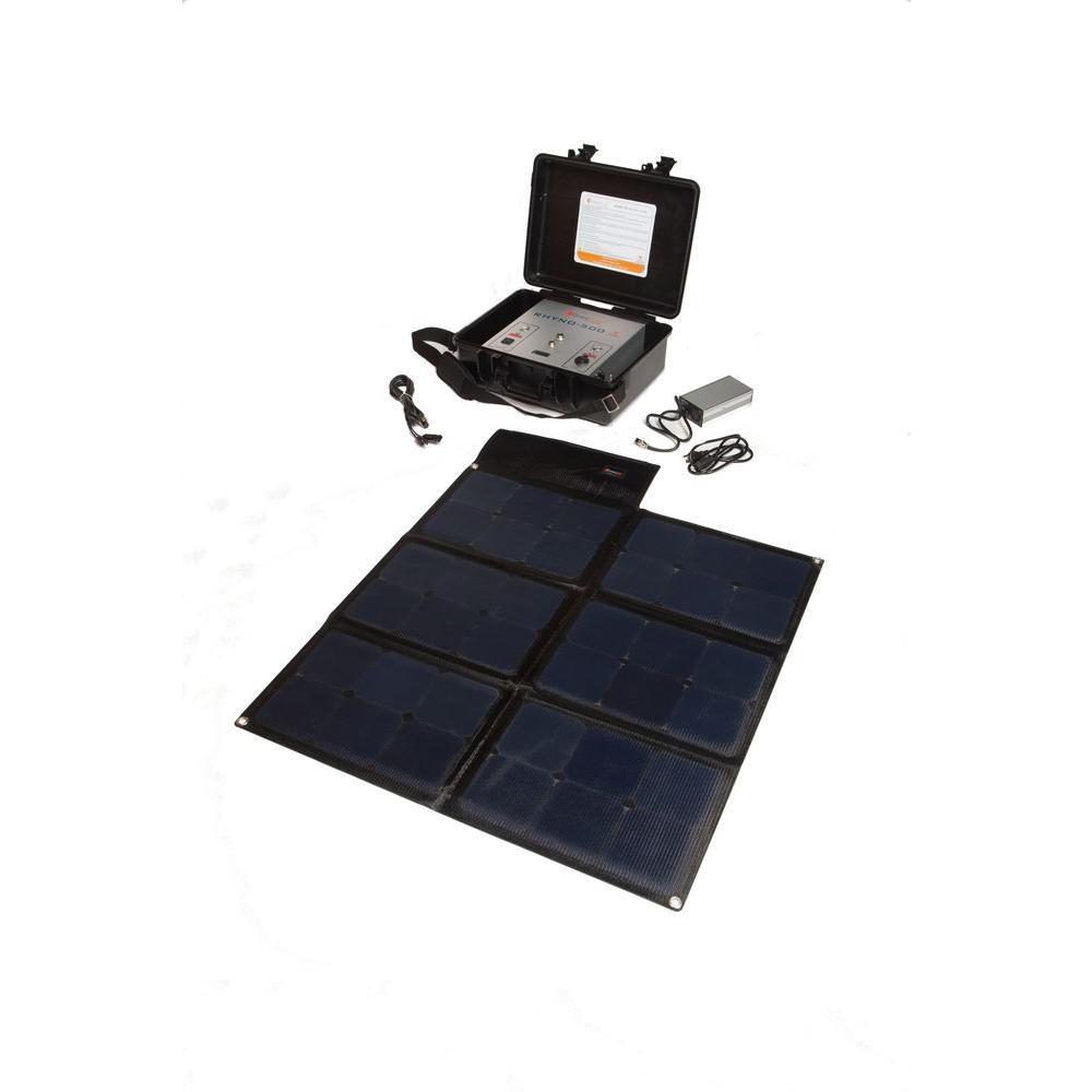 Grape Solar Rhyno 500 Emergency Back-Up Solar Generator