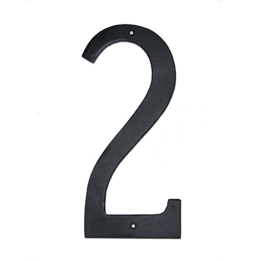 Montague Metal Products 6 In Standard House Number 2