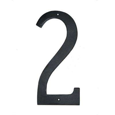 6 in. Standard House Number 2
