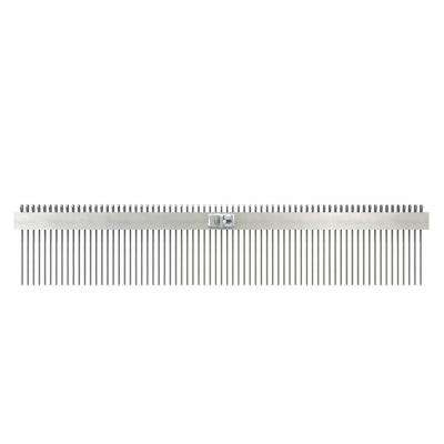 36 in. Concrete Texture Comb Brush with 1 in. Center