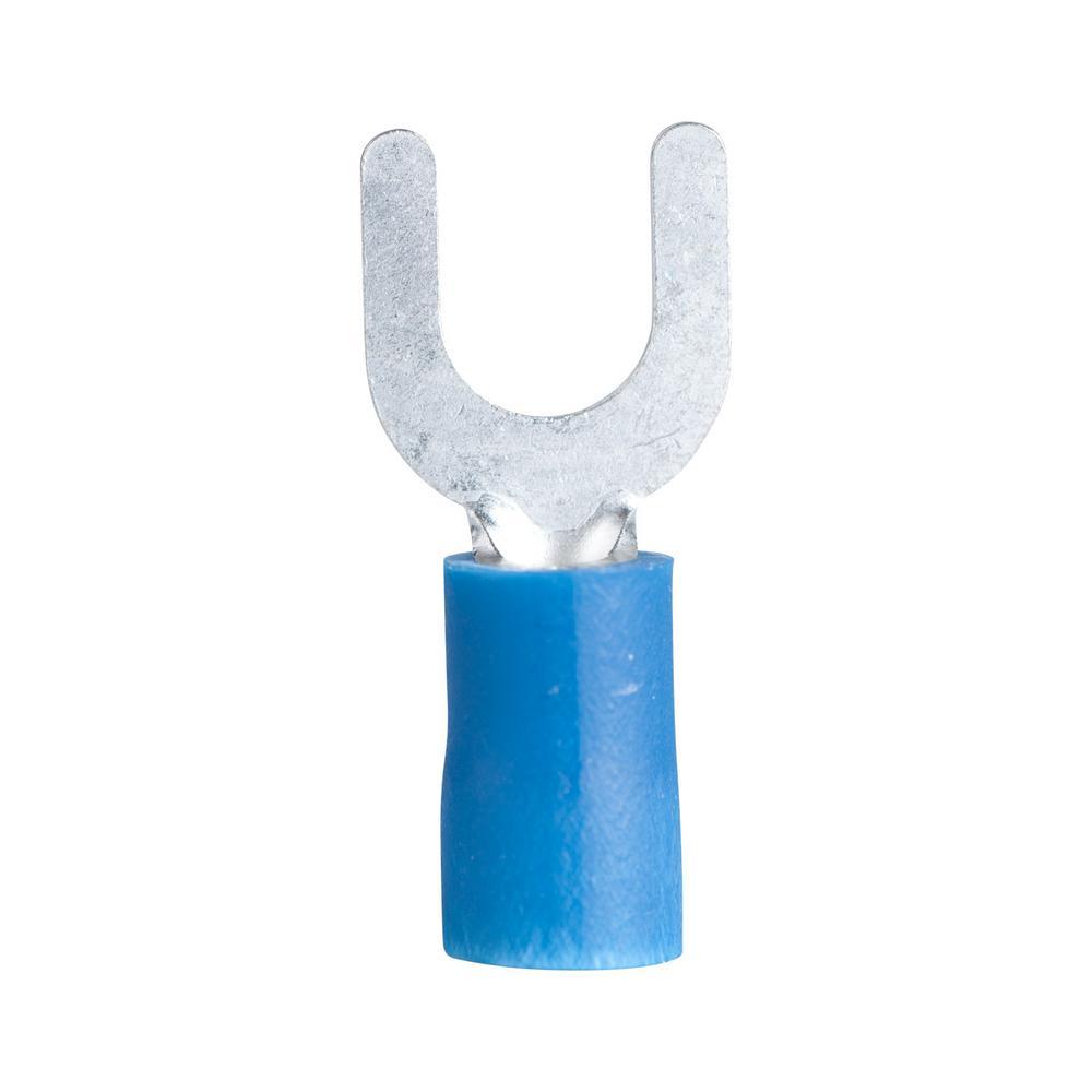 Gardner Bender 16  6 Stud Spade Terminal Vinyl Blue