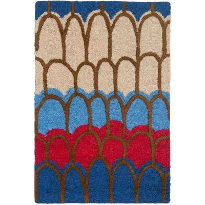 Kids Blue/Multi 3 ft. x 5 ft. Area Rug