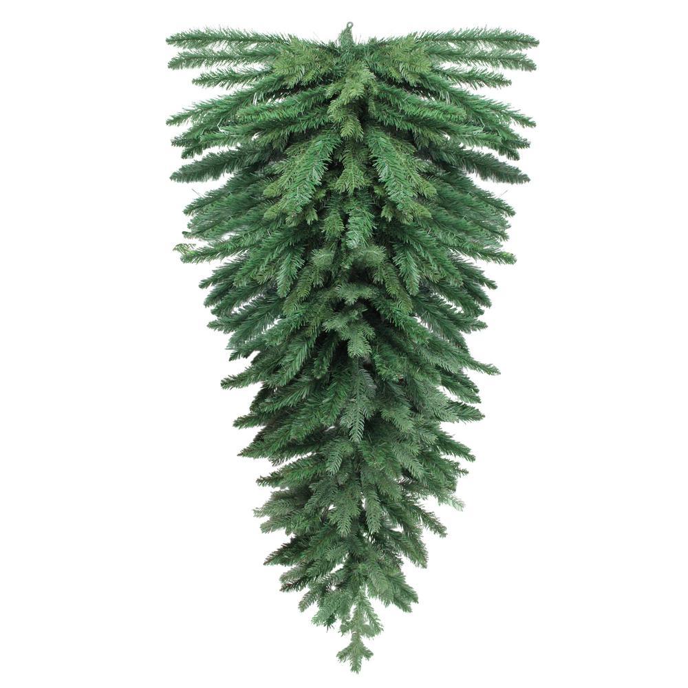 60 in. Unlit Mixed Pine Artificial Christmas Teardrop Swag
