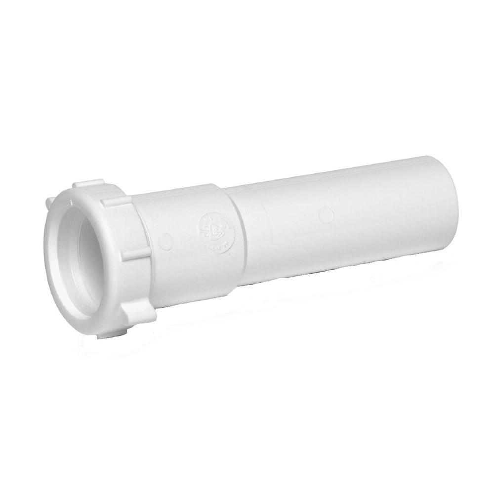 Slip Connection Polypropylene White Elbow 1-1//2 or 1-1//4 Pipe Dia Drains- Pack of 5