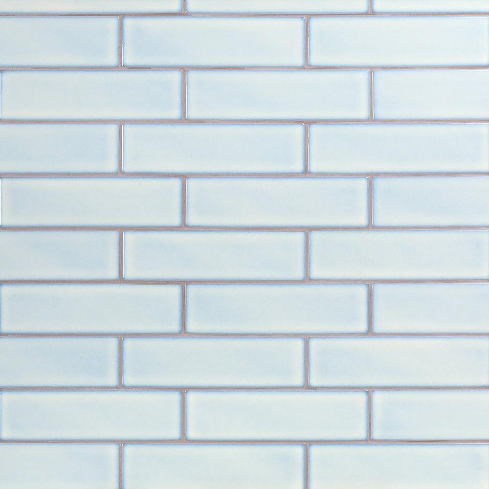 - Ivy Hill Tile Vintage Light Blue 3 In. X 9 In. X 8 Mm Ceramic Wall