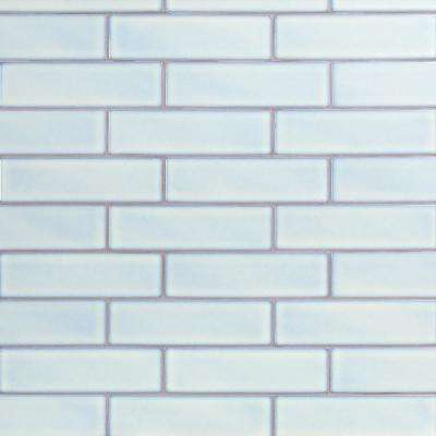 Vintage Light Blue 3 in. x 9 in. x 8 mm Ceramic Wall Mosaic Tile (20 pieces 3.12 sq.ft./Box)