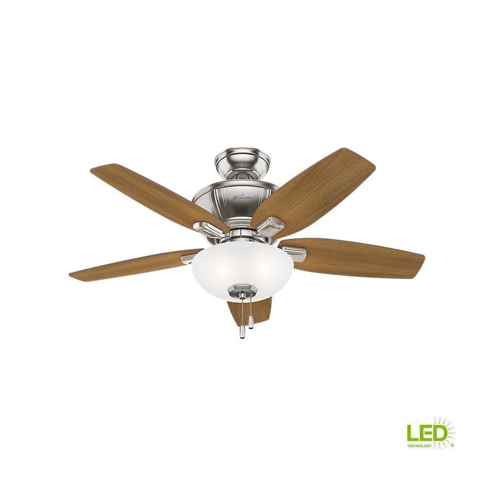 Hton Bay Ceiling Fans Wiring Diagram, Led Indoor Brushed Nickel Ceiling Fan, Hton Bay Ceiling Fans Wiring Diagram