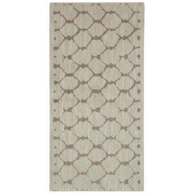 Avery Grey 2 ft. x 4 ft. Area Rug
