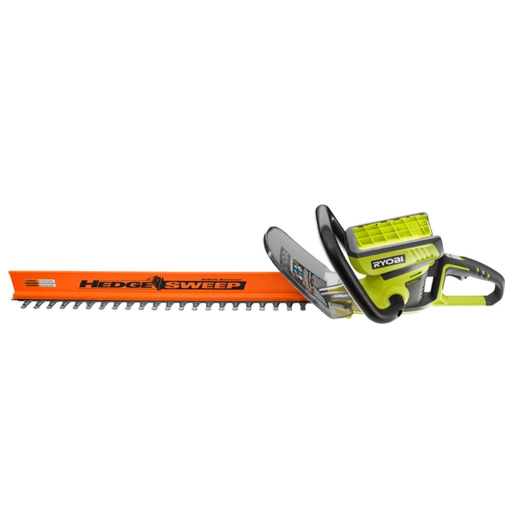 Ryobi 40-Volt Cordless Hedge Trimmer - Battery and Charger Not Included-DISCONTINUED