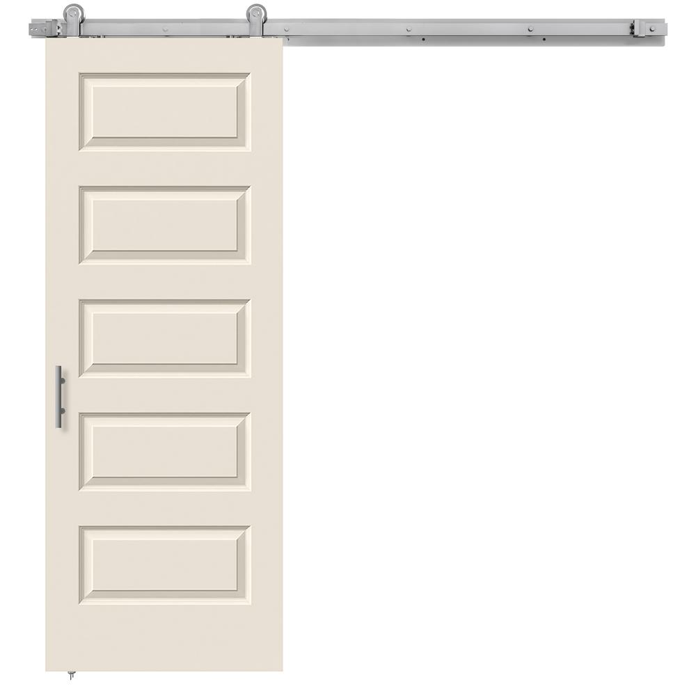 30 in. x 84 in. Rockport Primed Smooth Molded Composite MDF