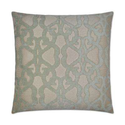 Phillipi Feather Down 24 in. x 24 in. Standard Decorative Throw Pillow