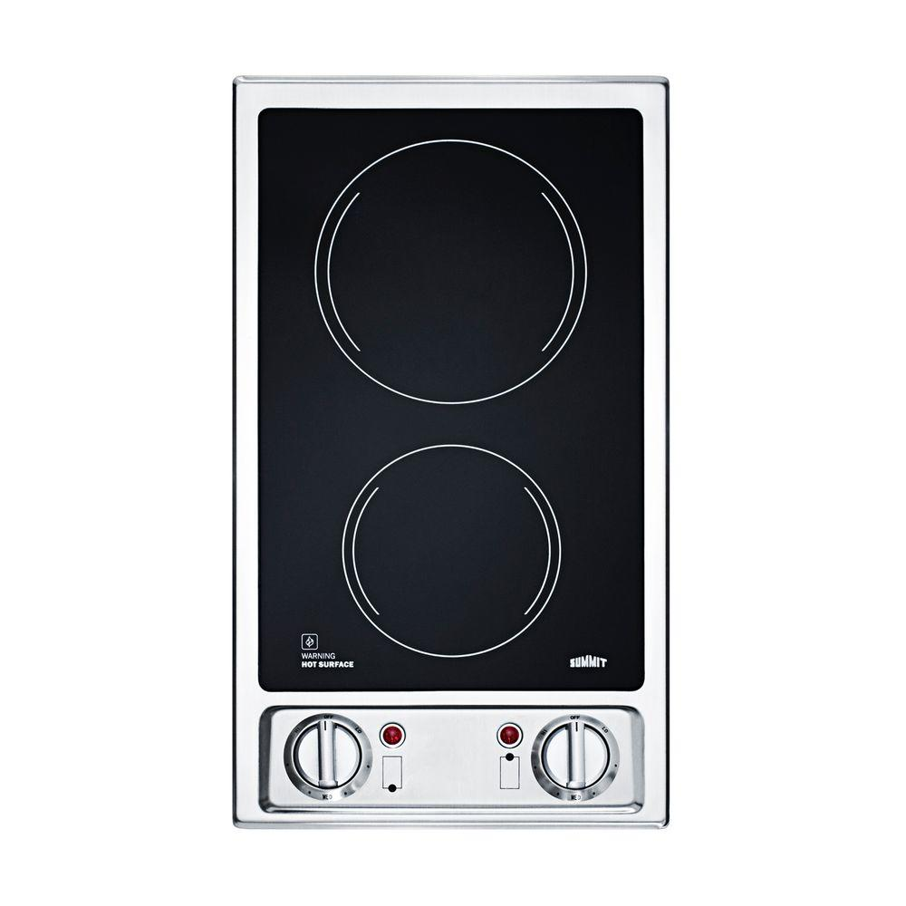 Electric Range Smooth Top Cooking Surface Summit On In: Electric Cooktops