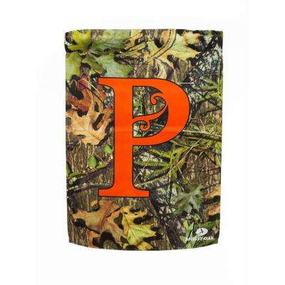 Mossy Oak 2-1/2 ft. x 3-2/3 ft. Monogrammed P 2-Sided Sublimated House Flag