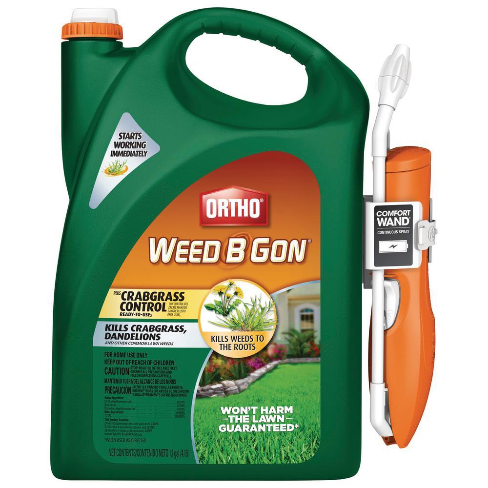 1.1 Gal. Weed B Gon Plus Crabgrass Control Ready-To-Use2 Wand (Bonus Size)