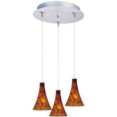 Leopard 3-Light RapidJack Pendant and Canopy