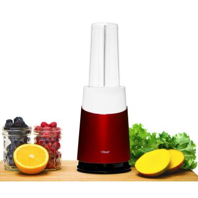 Mason Jar Ready Personal 24 oz. 1-Speed Red Blender 2-Family Pack