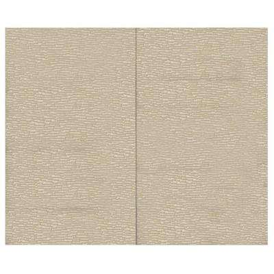 44 sq. ft. Driftwood Fabric Covered Top Kit Wall Panel