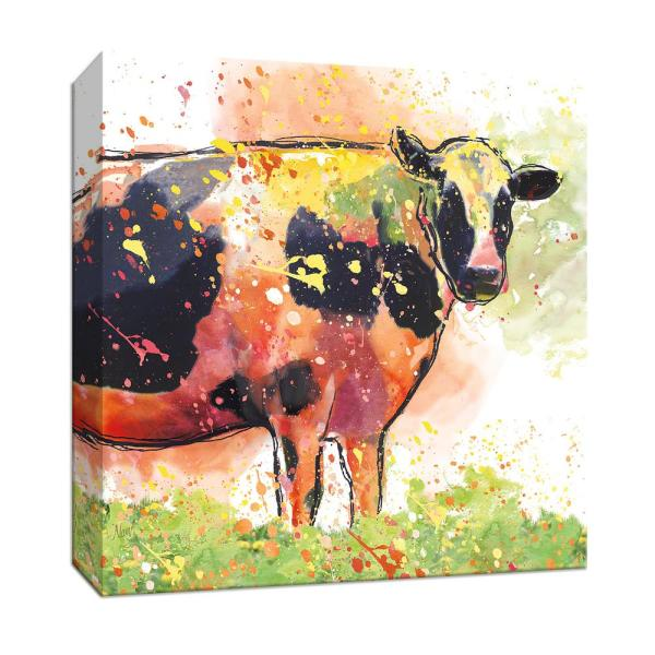 Ptm Images 15 In X 15 In Holy Cow Canvas Wall Art 9 165180