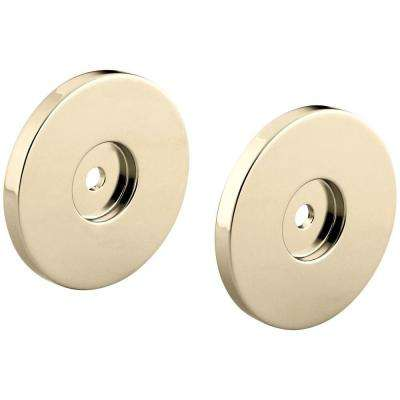 Stillness 2.5 in. Round Slide Bar Trim Kit, Vibrant French Gold (Valve Not Included)