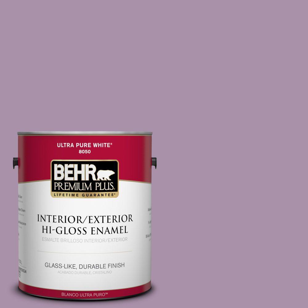 1-gal. #670D-5 Garden Flower Hi-Gloss Enamel Interior/Exterior Paint