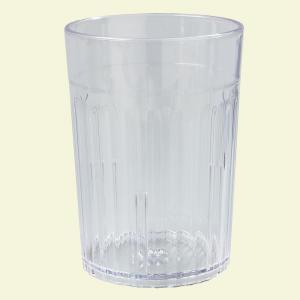 Carlisle 10 oz. SAN Plastic Tumbler in Clear (Case of 72) by Carlisle