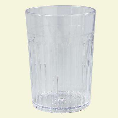 Carlisle 10 oz. SAN Plastic Tumbler in Clear (Case of 72) by Plastic Tumblers
