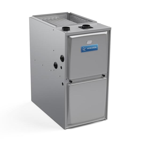 90,000 BTU 95% AFUE Upflow/Horizontal Multi-Speed Low NOX Gas Furnace with 21 in. Cabinet