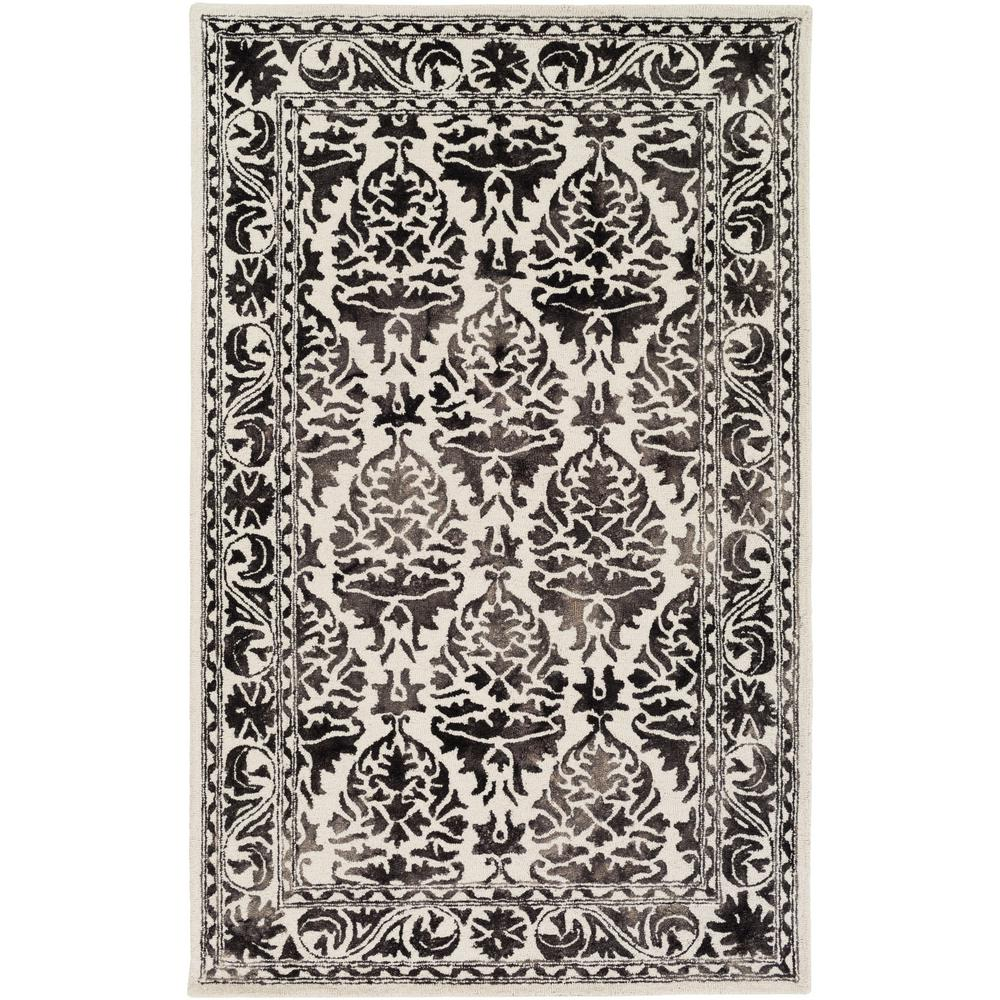 Organic Evelyn Onyx Black 8 ft. x 10 ft. Indoor Area