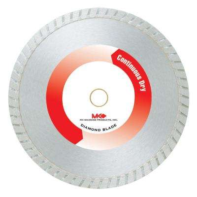 4 in. Economy Grade Dry Cutting Continuous Rim General Purpose Diamond Blade.