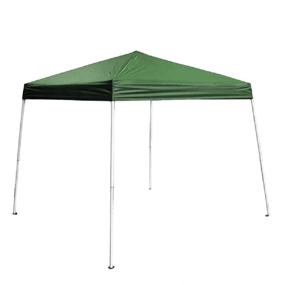 8 ft. x 8 ft. Green Gazebo Canopy