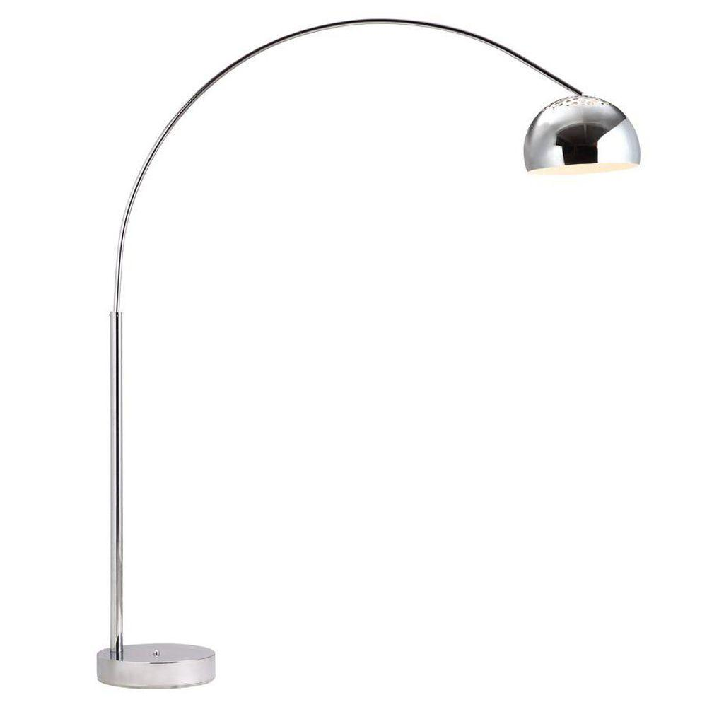 ZUO Galactic 80.1 in. Chrome Floor Lamp