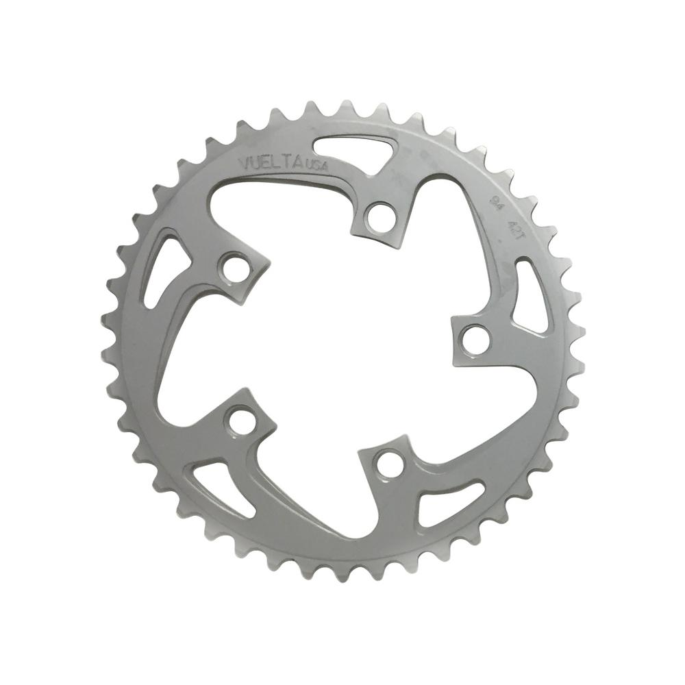 Vuelta SE Chain Ring 46T BCD 130mm Ring Silver