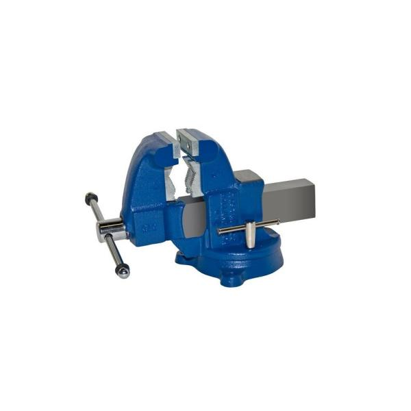 3-1/2 in. Heavy-Duty Combination Pipe and Bench Vise - Swivel Base