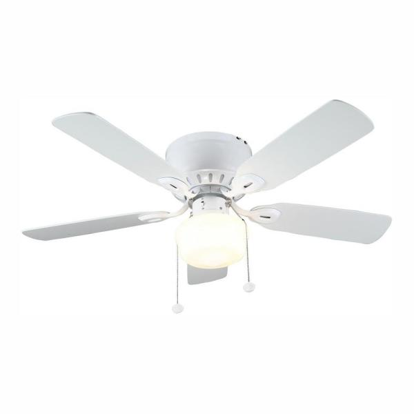 Led Indoor White Ceiling Fan