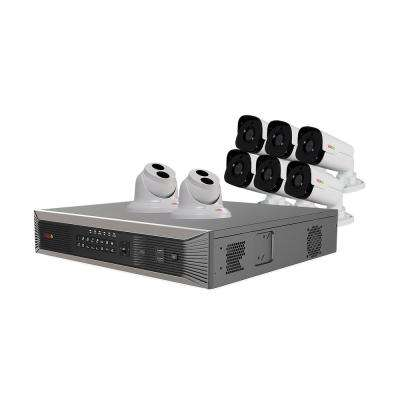 Ultra Plus HD 16-Channel 3TB NVR Surveillance System with 8 4 Megapixel Cameras