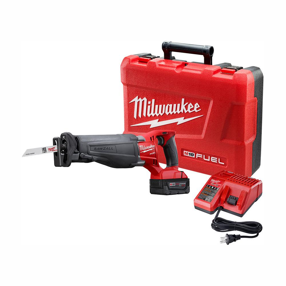 Best Cordless Reciprocating Saw 2020 Milwaukee M18 FUEL 18 Volt Lithium Ion Brushless Cordless SAWZALL
