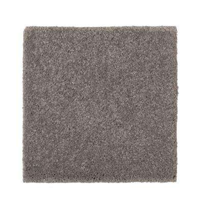 Carpet Sample - Gazelle II - Color Mountain Mist Texture 8 in. x 8 in.