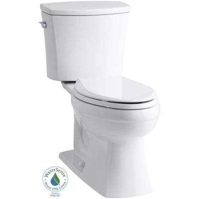 Kelston Comfort Height 2-piece 1.28 GPF Elongated Toilet with AquaPiston Flushing Technology in White