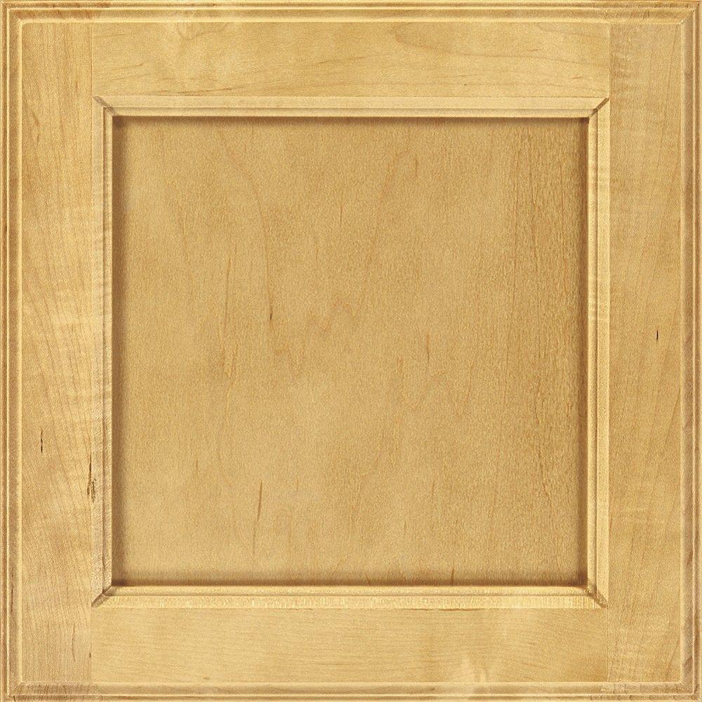 Thomasville 14.5x14.5 in. Cabinet Door Sample in Linden Wheat