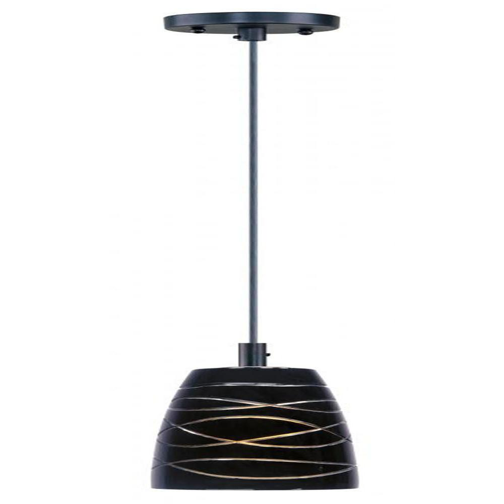 Filament Design Coit 1-Light Bronze Mini Pendant