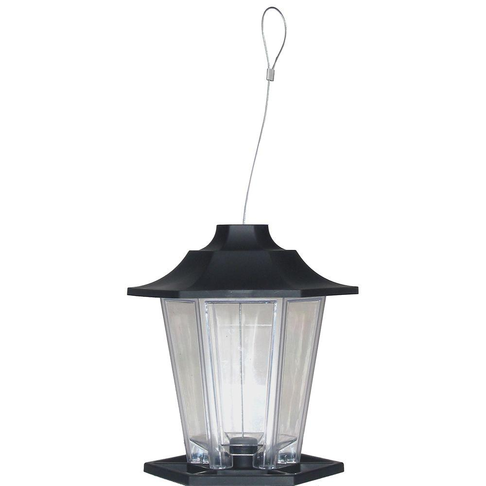 Carriage Bird Feeder, Black