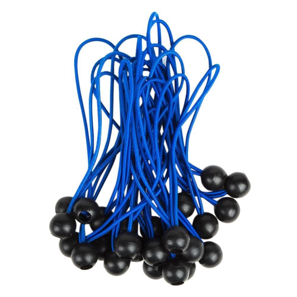 9 in. Latex Tarp Bungee Ball Cord Set (50-Piece)