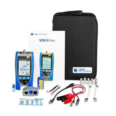 VDV II Pro Wiremap Tester with Tone Generator