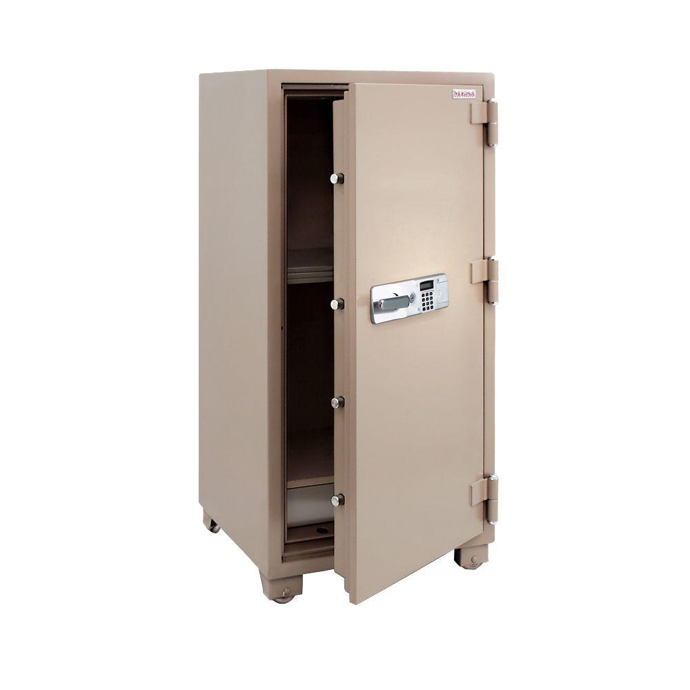 MESA 12.2 cu. ft. All Steel 2 Hour Fire Safe with Electronic Lock, Tan