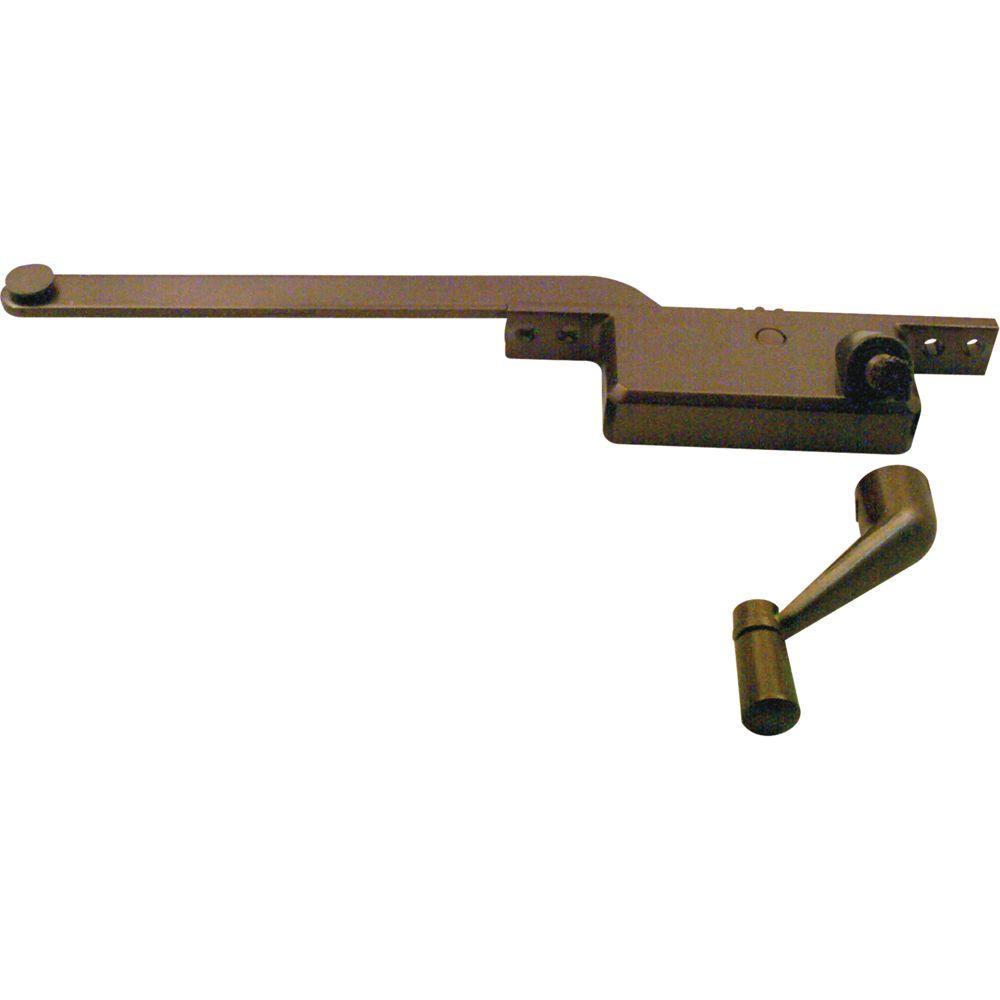 8 in. Bronze Square Type Right-Hand Casement Operator