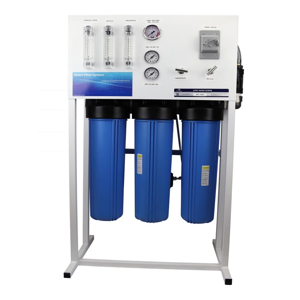 Commercial Reverse Osmosis System for Drinking Water and Hydroponics
