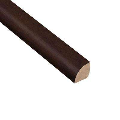 Cocoa Acacia 3/4 in. Thick x 3/4 in. Wide x 94 in. Length Hardwood Quarter Round Molding