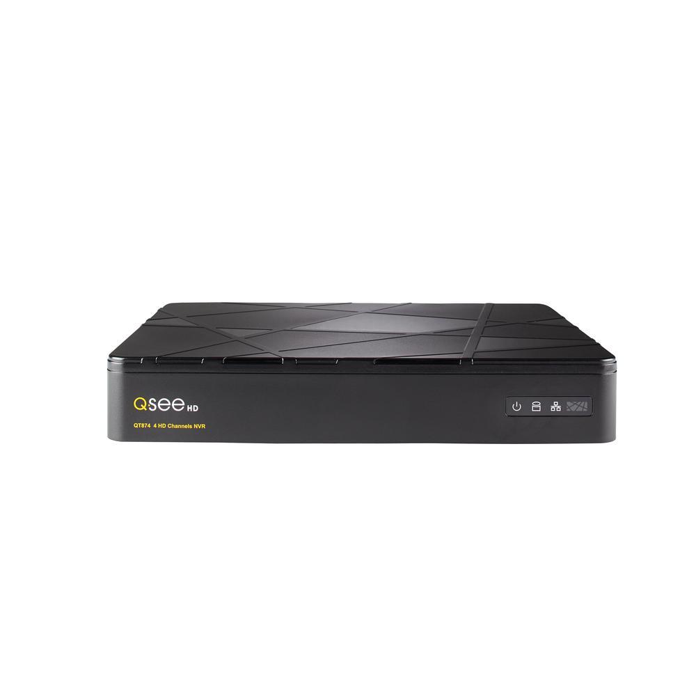 Q-See 4-Channel 4MP 2TB Surveillance NVR